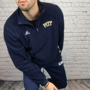 Adidas Fleece Pittsburgh Panthers Pullover Sweater
